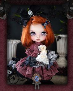 Custom Blythe Dolls: Milk Tea Custom Blythe Merry Neo Blythe - A Rinkya Blog