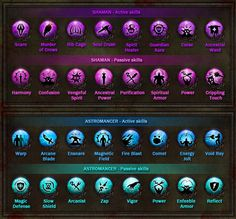 Dungeon Hunter 3 Skills Icons by Panperkin.deviantart.com on @deviantART
