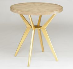 Odin Side Table - Ivory Shagreen, 20% off through Friday 5/10/13 at midnight EST