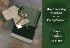 Shop Everything Bohemian at Pop Up Bazaar on 20-23 July! Dates: 20-23, July 2017 (Thursday to Sunday)  Address: House of Taamara, 3281, 12th Main, HAL 2nd Stage, Indiranagar, Bangalore. Contact: 080-41607288 Timings: 10:30 AM to 7:30 PM #Exhibition #PopUpBazaar #Fashion #Lifestyle #Accessories #Clothing #CityShorBangalore