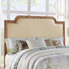 Dorel Living Upholstered Headboard & Reviews   Wayfair
