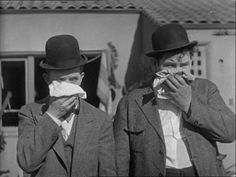 It's Friday so that means Laurel & Hardy time! / Comedy Genuis Stan Laurel and Oliver Hardy For more from the movies head over to:. Laurel Et Hardy, Stan Laurel Oliver Hardy, Great Comedies, Classic Comedies, Comedy Duos, Abbott And Costello, Gif Animé, Animated Gif, People Of Interest