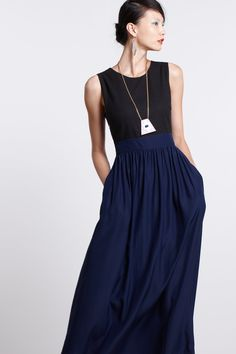 effortless but stunning - Cecil Maxi Dress #anthropologie