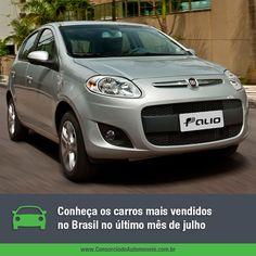 Saiba quais foram os automóveis mais comercializados no Brasil durante o último mês de julho e aproveite para programar a compra do seu pelo consórcio: https://www.consorciodeautomoveis.com.br/noticias/os-carros-mais-vendidos-no-brasil-em-julho-de-2015?idcampanha=206&utm_source=Pinterest&utm_medium=Perfil&utm_campaign=redessociais