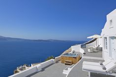 Revel in the Santorini views and magnificent sunset in the privacy of the Canaves Oia Villa