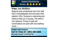 Regional gives professional care from staff that is knowledgeable and care about their...