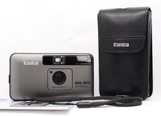 [Film Tested] Konica Big Mini BM-201 35mm Point&Shoot Camera W/Manual From Japan #KonicaMinolta