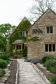 Early 1600's stone Cotswold cottage from Chedworth, Gloucestershire, England - Greenfield Village, MI