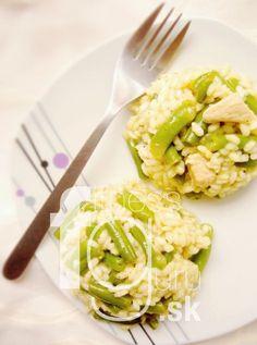 Kuřecí rizoto se zelenými fazolkami