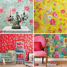 pip studio wallpapers, happy! to blend these is a great idea even if in just a small way...