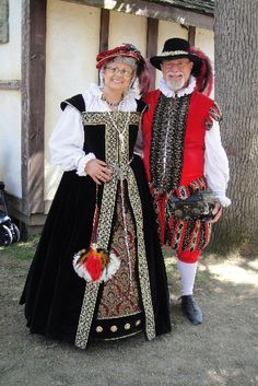 My husband and me at the Bristol Renaissance Festival 2011