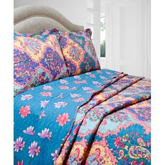 Pegasus Home Fashions Vintage Isabella Quilt Set & Reviews | Wayfair