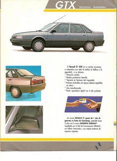 Renault 21 1993 Brochure 4