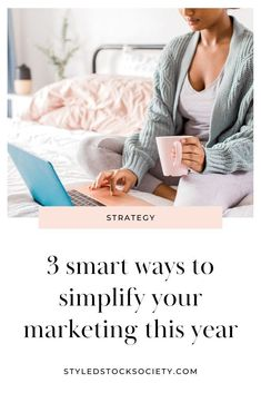 3 Ways to Simplify Your Marketing - planning your marketing strategy for next year? Here are 3 ways to streamline your marketing ideas and creating a simplified marketing plan that you'll actually stick to. #marketing #digitalmarketing #onlinemarketing Marketing Ideas, Business Marketing, Business Tips, Online Marketing, Social Media Marketing, Digital Marketing, Business Education, Marketing Strategies, Marketing Tools