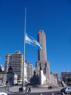 Monumento a la Bandera, Rosario, provincia de Santa Fe, Republica Argentina
