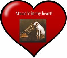 ♫ Music is in my heart!