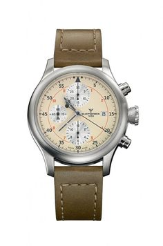 Swiss Made Watches, Chronograph, Ivory, Elegant, Luxury, Watch, Watches, Classy, Chic