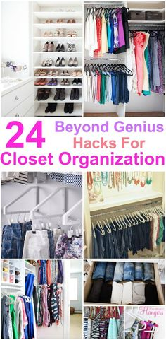 Closet Organization ideas are amazing. Every girl should know these Closet Organization ideas in order to de-clutter the home. I am glad that I could find these Closet Organization ideas and pinning for future reference. Best Closet Organization, Closet Hacks, Wardrobe Organisation, Clutter Organization, Closet Storage, Organization Ideas, Closet Ideas, Bedroom Organization, Tiny Closet
