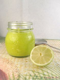 Lime curd- I made mine with two extra limes and it was super tart and delicious (be patient with letting it thicken)
