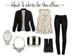 black & white for the office
