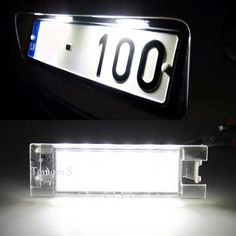 26.00$  Buy here - http://alim4w.shopchina.info/go.php?t=32306176541 - HOPSTYLING 2X Error Free 18SMD LED Number license plate light For Opel Opel Astra Corsa Zafira car-styling Auto accessories 26.00$ #buyininternet
