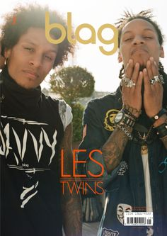 Les Twins | Exclusive excerpt from BLAG Vol.3 Nø 5 - BLAG magazine