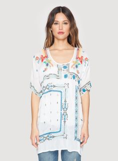 Johnny Was Danny Blouse | My Royal Sister - LOVE. #amazing #embroidery #top #tunic #dress #whateveryouwant