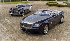 Rolls-Royce Dawn, renewed in its style but still iconic.