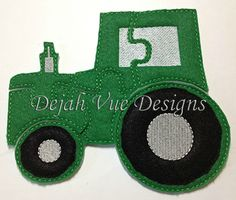 Tractor Felt Puzzle and many more items are available for purchase at https://www.etsy.com/shop/SchoolhouseBoutique