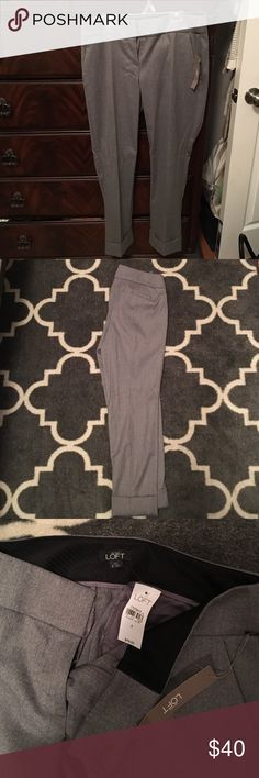 The Loft dress pants The Loft Dress pants. Brand new, never worn before. Tags still on. Soft, loose fit, quality material. LOFT Pants Ankle & Cropped
