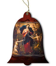 Mary Undoer of Knots Wood Ornament - Catholic to the Max - Online Catholic Store