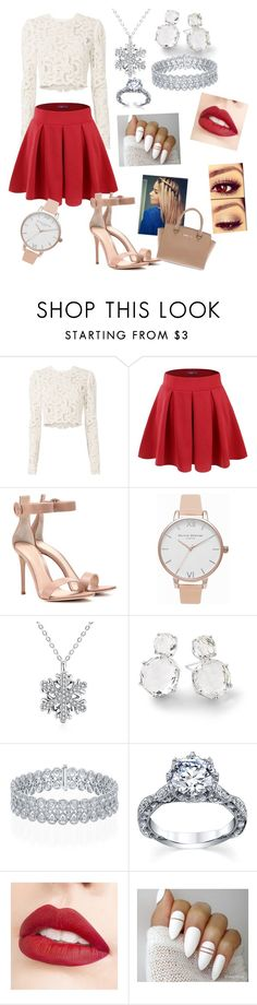 """""""XMAS with babe (for girl)"""" by valezb on Polyvore featuring A.L.C., Doublju, Gianvito Rossi, Olivia Burton, Ippolita, Jouer and Michael Kors"""
