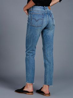 FP Levi's Wedgie Icon Patched Jeans (Joshua Tree)
