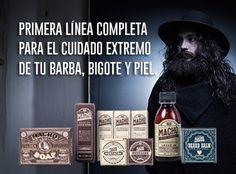 Línea completa para el cuidado extremos de tu barba, bigote y piel.