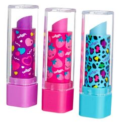 Image for Eraser Lipstick from Smiggle UK Little Girl Toys, Toys For Girls, Baby Girl Toys, Lol Dolls, Barbie Dolls, Cool School Supplies, Kids Makeup, Makeup Kit, Makeup Lipstick