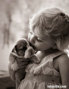 Kids and Puppies are so addictive I cannot believe it!
