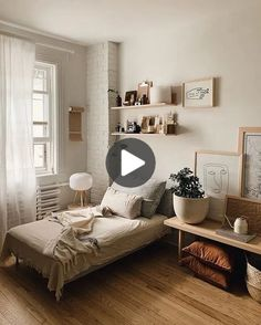 Awesome Idee Deco Chambre Style Loft that you must know, You?re in good company if you?re looking for Idee Deco Chambre Style Loft Room Ideas Bedroom, Small Room Bedroom, Home Bedroom, Girls Bedroom, Master Bedroom, Interior Design Small Bedroom, Small Apartment Bedrooms, Master Suite, Bedroom Simple