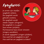 Begeleide of zelfstandige activiteit - Mssagekaart Spaghetti