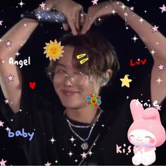 Jung Hoseok, Sanrio, Jhope Cute, Bts Aesthetic Pictures, Twitter Layouts, Hello To Myself, Bts Chibi, Cute Icons, Bts J Hope