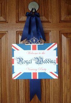 Royal Wedding Viewing Party