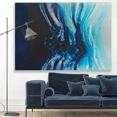 I quite like this painting! just not sure if it would suit the room with its dark brown wall