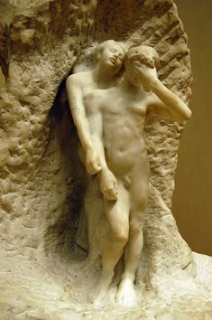 Orpheus and Eurydice by Rodin