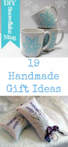 19 Handmade Gift Ideas - using free graphics from The Graphics Fairy Graphics Fairy, Free Graphics, Handmade Crafts, Colored Pencils, Diy Projects, Mugs, Gift Ideas, Kit, Tableware