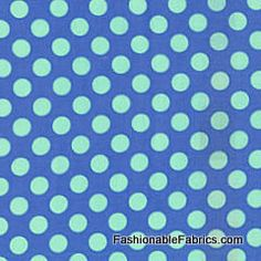 Fabric... Ta Dot in Breeze by Michael Miller Fabrics