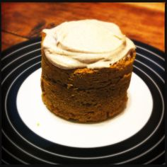 Paleo Pumpkin Mug Cake. Used an egg white instead of whole egg and 2 t pure maple syrup to sweeten.