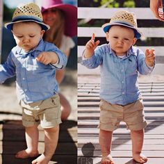 I think this fashion is a great kind of wear for younger babies when they are on vacation