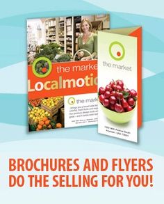 The Printing Team provides brochures and flyers do the selling for you. http://www.theprintingteam.ca/services/