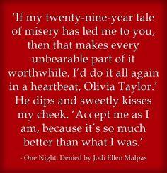 One Night: Denied by Jodi Ellen Malpas is on sale 11/11/14! #books #meetm #romance