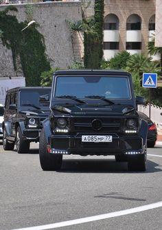 Mercedes G-class Brabus