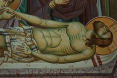 Iconographer Dimitris Maniatis – icoana Byzantine Icons, Byzantine Art, Life Of Christ, Orthodox Icons, Fresco, Vignettes, My Arts, Face, Crosses